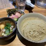 ナギサ - 特製つけ麺(昆布水)