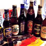 パウケ - PAUKEのビールメニューは、その数なんと83種。地域やブランドごとの味わいの違いを飲み比べできます。