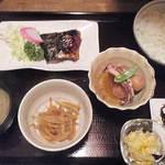茶の間 雛 - 日替(塩鯖)定食 600円