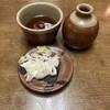 七福 志な乃 - 料理写真:そばつゆとネギ