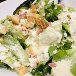 旨唐揚げと居酒メシ ミライザカ - オーガニック野菜のシーザーサラダ