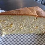 指月茶寮 - 夏みかんのチーズケーキ