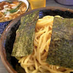 めん屋 桔梗  - 塩つけ麺大盛(850円)