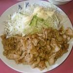 赤尾飯店 - 豚スタミナ定食