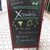X-cafe - その他写真:立て看板:X-mobile & X-cafeのオープン告知