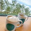 SORA terrace cafe - ドリンク写真:ソラコーヒー withマグカップ&マシュマロ