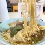 大塚支店 - 大塚支店@銚子 ワンタンメン 麺リフト