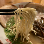 Gochoume - 麺は細ストレート系