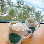 SORA terrace cafe - ソラコーヒー withマグカップ&マシュマロ