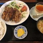 和光食堂 - 鶏の山賊焼き定食
