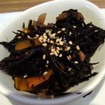 バル デ ムー - プレートランチ・ひじき煮