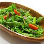 アンチョビのグリーンサラダ