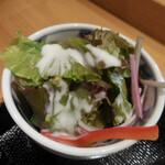 どん薩摩 - サラダ
