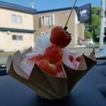 ウルフストア - 料理写真:かき氷苺 930円
