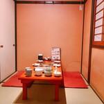 鳥蔵 - 2~6名様向けの個室タイプのお部屋を全9席ご用意しております。