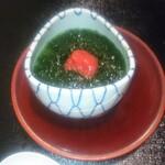 日本料理 まめぞう - 青のり玉締め