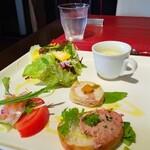 トラットリア ステッラ - 料理写真:前菜