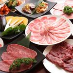 JA全農ミートフーズ直営 焼肉ぴゅあ - 限定☆得々5000円コース☆飲み放題付き♪