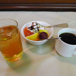 ユーフォニー - ランチバイキング、〆はデザート・コーヒー・烏龍茶