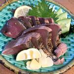 活魚水産 - カツオ塩タタキも旨い。