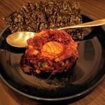 YUZURIHA - 桜肉のコリアンユッケ(半額) 484円