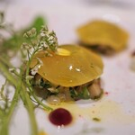 134145213 - 三陸産ホタテ貝とつぶ貝のタルタル