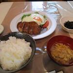 森樹 - 料理写真:ハンバーグ定食
