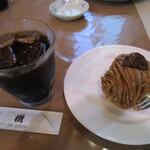 森樹 - コーヒーとケーキのセット