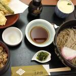 味処 さかね - 天ぷらとお蕎麦と炊き込み