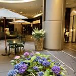 ドゥ マゴ パリ - 紫陽花のプランター