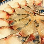 京屋 - 春といえば「天然鯛のしゃぶしゃぶ」