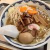 むらもと - 料理写真:少なめ+味玉+野菜+刻みチャーシュー