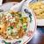 味坊 - 料理写真:山椒激辛冷麺+半チャーハンのセット 700円