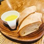Taverna frico - 自家製パン