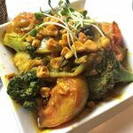 134159697 - 「季節野菜のサブジ」650円