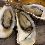 復興居酒屋がんばっぺし - 焼牡蠣