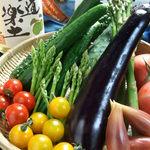 鉄板酒場 焼酎ミュージアム - 山田農園直送! 今年も夏野菜が届きました!生でもよし、鉄板焼き野菜も人気メニューです。