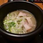 博多 元桜 - 塩×魚介スープ