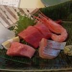 サマルカンド柴藤 - 本日の造り盛り合わせ(5種)