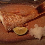 サマルカンド柴藤 - のどぐろ塩焼き