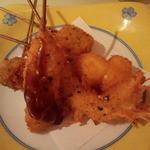 サマルカンド柴藤 - 串カツ5種