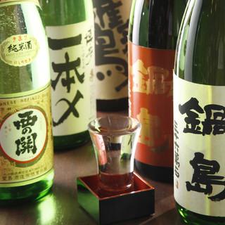 九州の地酒を堪能出来ます