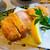 とんかつ食房 厚○ - 料理写真:厚切りロースかつ定食