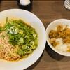 赤麺 梵天丸 - 料理写真:特製汁なし坦々麺830円 ライス小80円