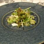 リストランテ カノフィーロ - イワシのマリナート グレープフルーツと胡瓜