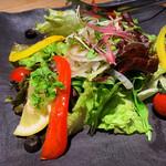 駱駝別邸 - 別邸のミックスサラダ
