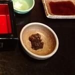 134168957 - 付け合わせの そば味噌