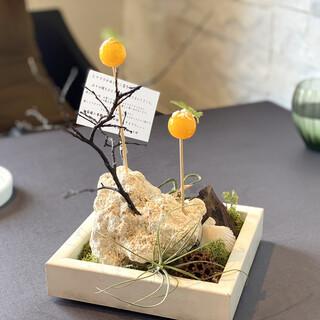 プレゼンテ スギ - 料理写真:〜シェフからの最初の贈り物〜トマト飴