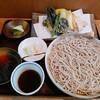 味ごよみ - 料理写真:田舎もり 季節の天ぷら付 850円