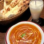 """ハッピー ネパール&インディアン レストラン - ✨""""B""""set ¥850+chicken curry大盛¥100✨"""